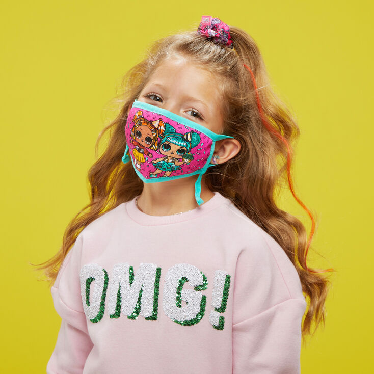 L.O.L. Surprise!™ Doll Print Face Mask Set – Adjustable,