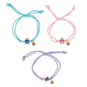 Best Friends Pastel Turtle Stretch Bracelets 3 Pack