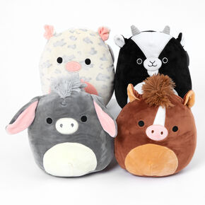 "Squishmallows™ 8"" Farm Animal Soft Toy - Styles May Vary,"