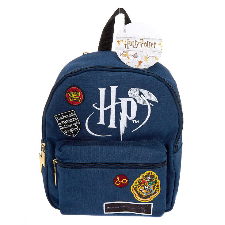 5e8decfd75 Harry Potter trade  Patch Mini Backpack - Navy ...