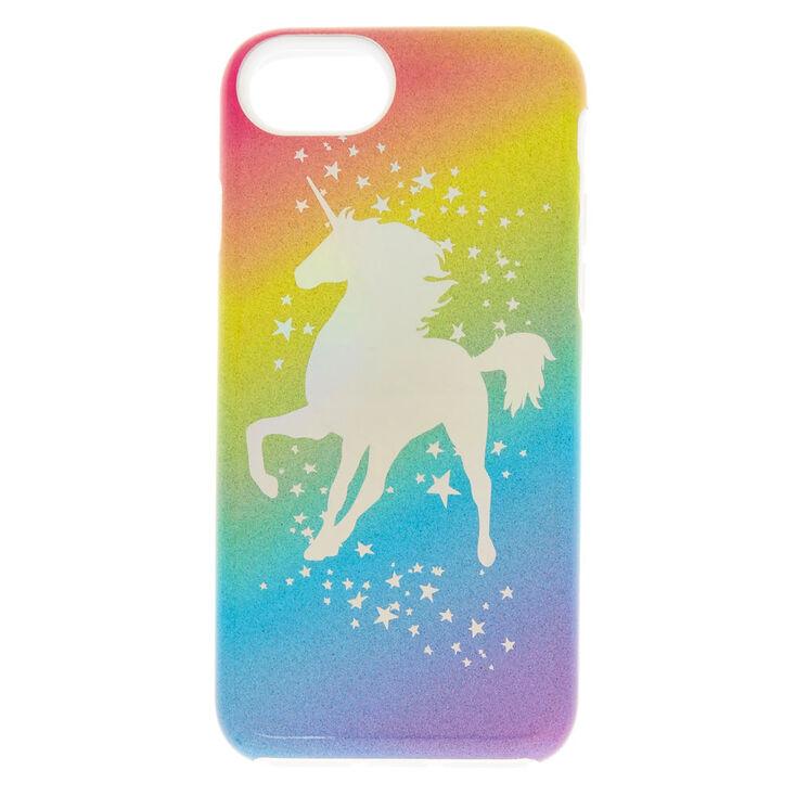 factory authentic 18979 b9bc7 Rainbow Unicorn Protective Phone Case - Fits iPhone 6/7/8