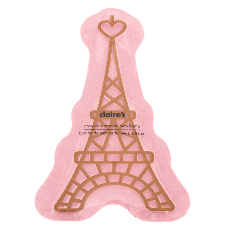 Eifel Tower Bath Bomb – Strawberry,