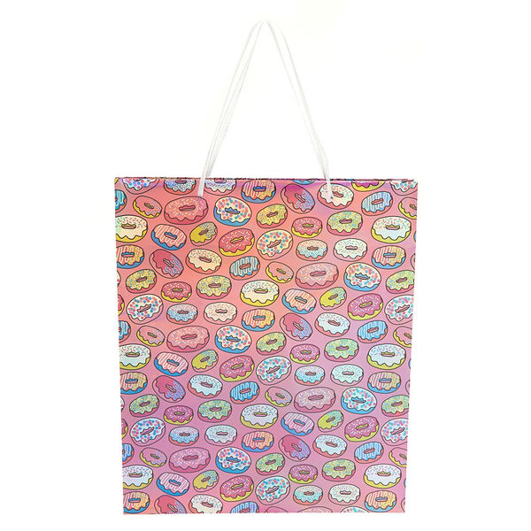 Claire's - extra large donut gift bag - 1