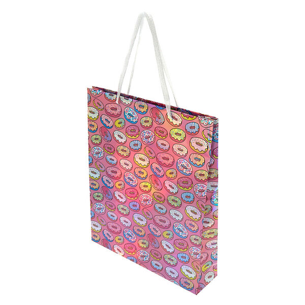 Claire's - extra large donut gift bag - 2