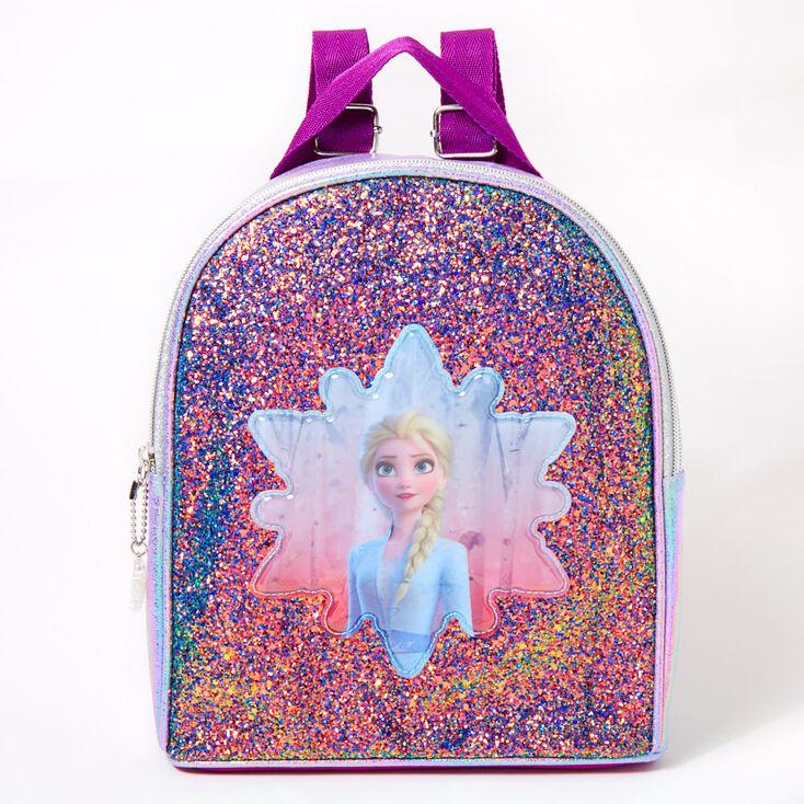 ©Disney Frozen 2 Glitter Elsa Small Backpack - Purple,