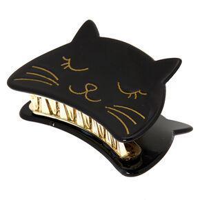 Cat Hair Claw Clip - Black,
