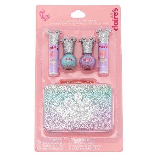 Claire's - club kitty ballerina makeup & tin set - 1