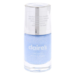 Glitter Sand Nail Polish - Blue Pastel,