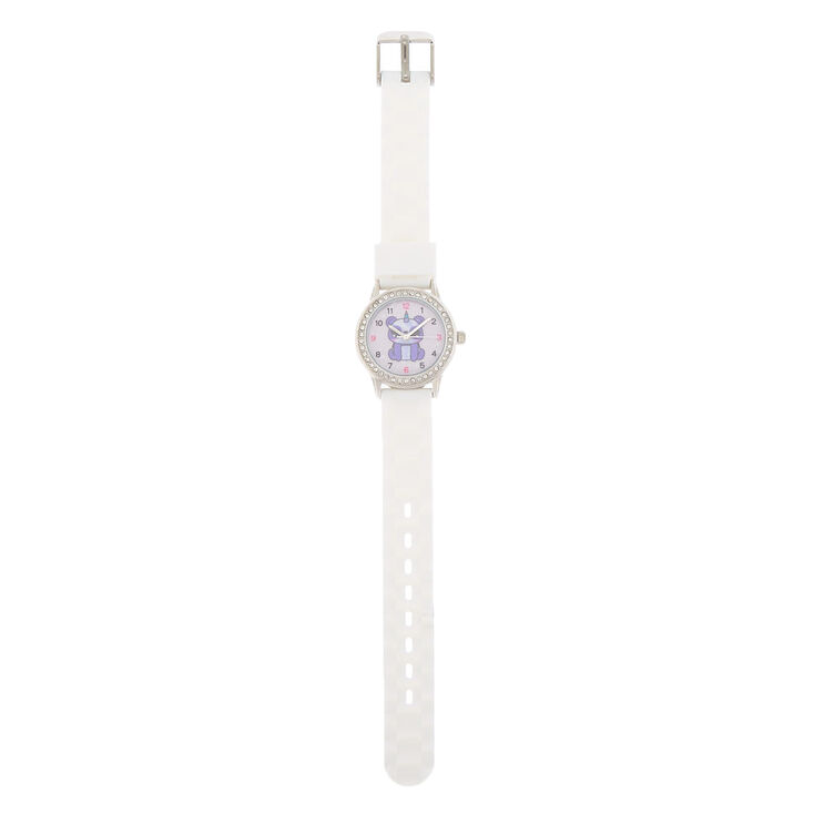 Charlie the Panda Rubber Watch - White,
