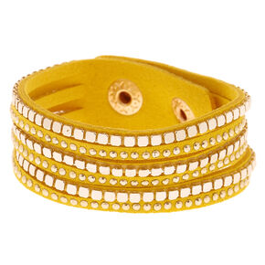 Go to Product: Western Wrap Bracelet - Yellow from Claires
