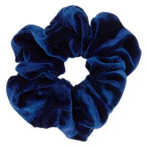 7430ef811ee8 Velvet Hair Scrunchie - Navy