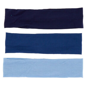 Ocean Tone Headwraps - Blue, 3 Pack,