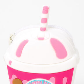 Panda Bubble Tea Jelly Coin Purse - Pink,