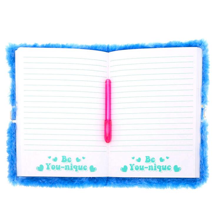 Tilly the Toucan Lock Plush Diary,