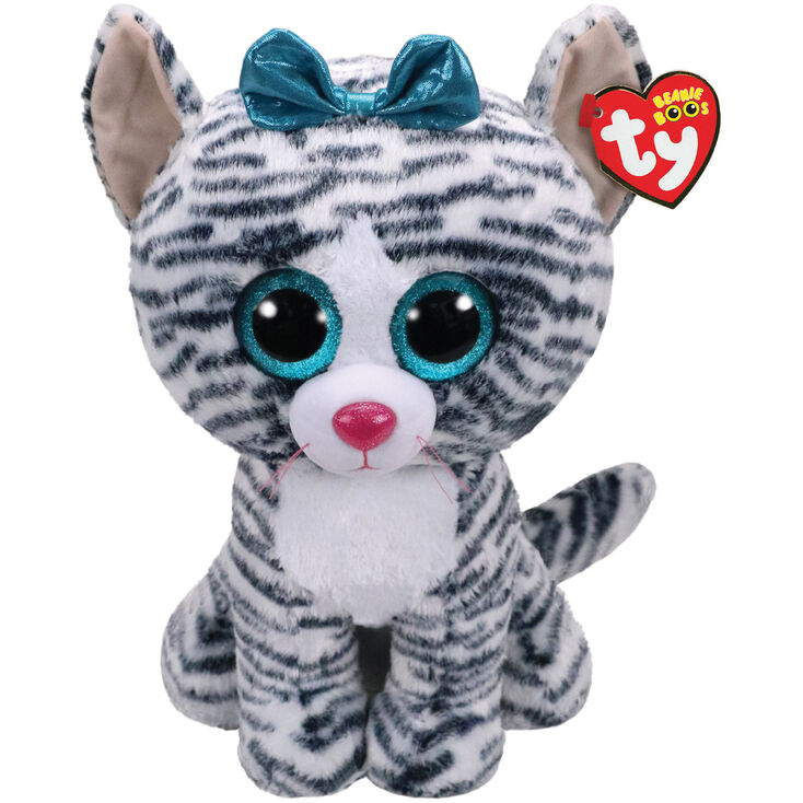 ea4a621c3cf Ty Beanie Boo Large Quinn the Cat Soft Toy