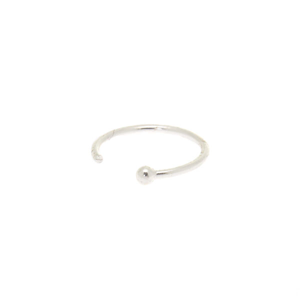 Claire's - sterling 22g classic nose ring - 1