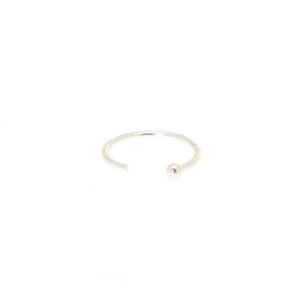 Claire's - sterling 22g classic nose ring - 2