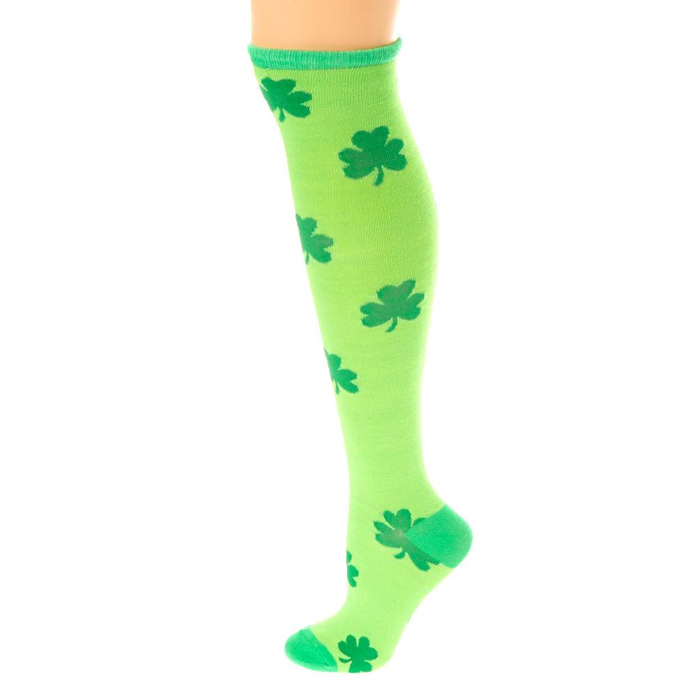Green Knee High Socks