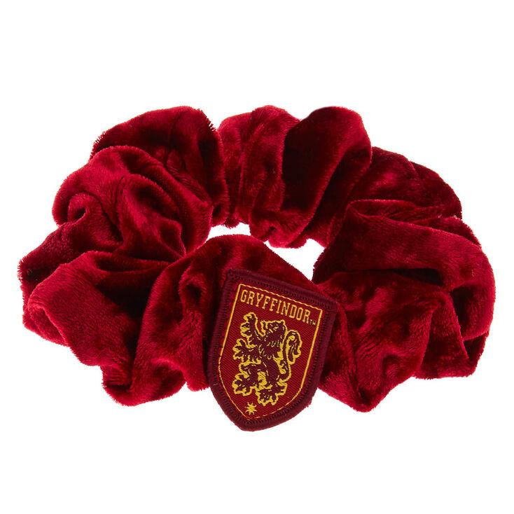 Harry Potter Gryffindor Velvet Hair Scrunchie - Red,