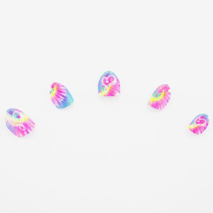Faux ongles autocollants stiletto JoJo Siwa™ - Tie-dye,