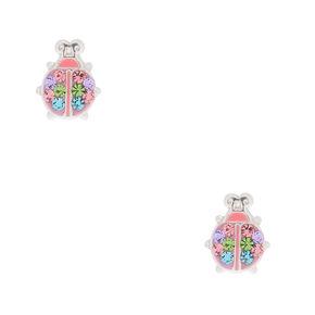 5a5d56f1d Sterling Silver Ladybird Stud Earrings