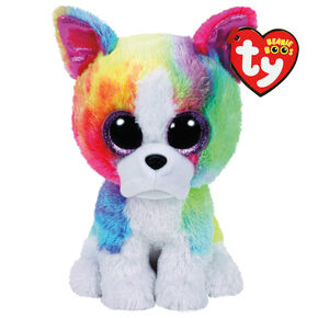 03c975bbdd9 Ty Beanie Boo Large Isla the Rainbow Bulldog Soft Toy