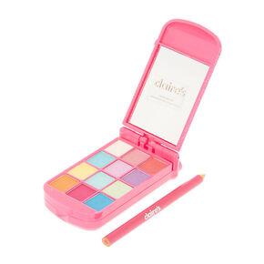 Glitter Flip Phone Makeup Set - Pink,