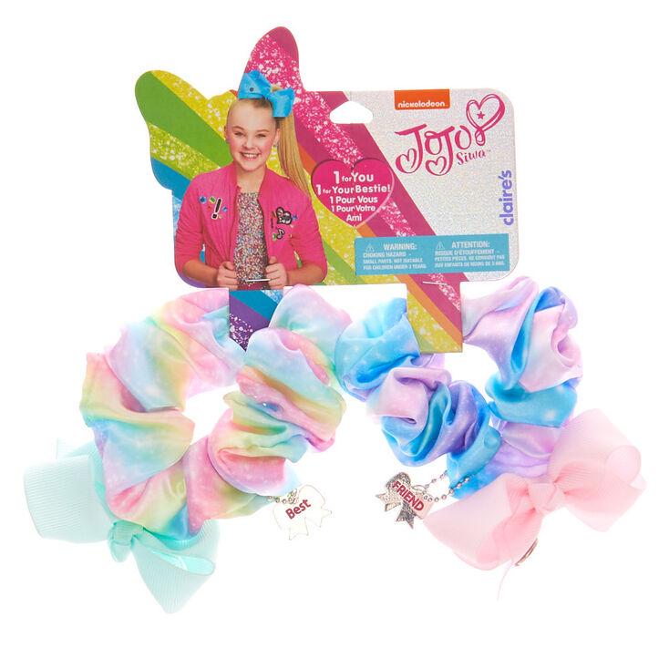 JoJo Siwa Hair Scrunchies - 2 Pack,