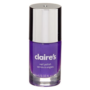 Solid Nail Polish - Neon Purple,