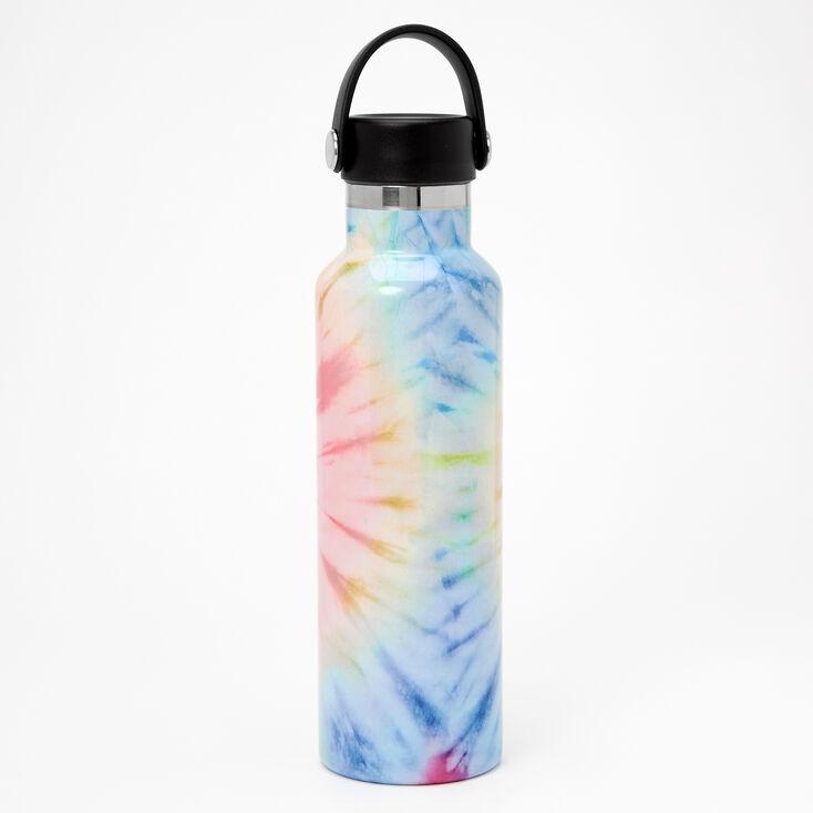 Rainbow Tie Dye Metal Water Bottle,