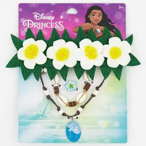 ©Disney Princess Moana Flower Crown & Jewellery Set - 4 Pack,