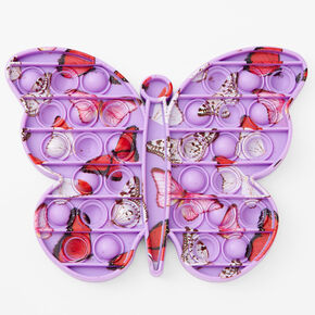 Pop Poppers Marble Unicorn Butterfly Fidget Toy – Styles May Vary,