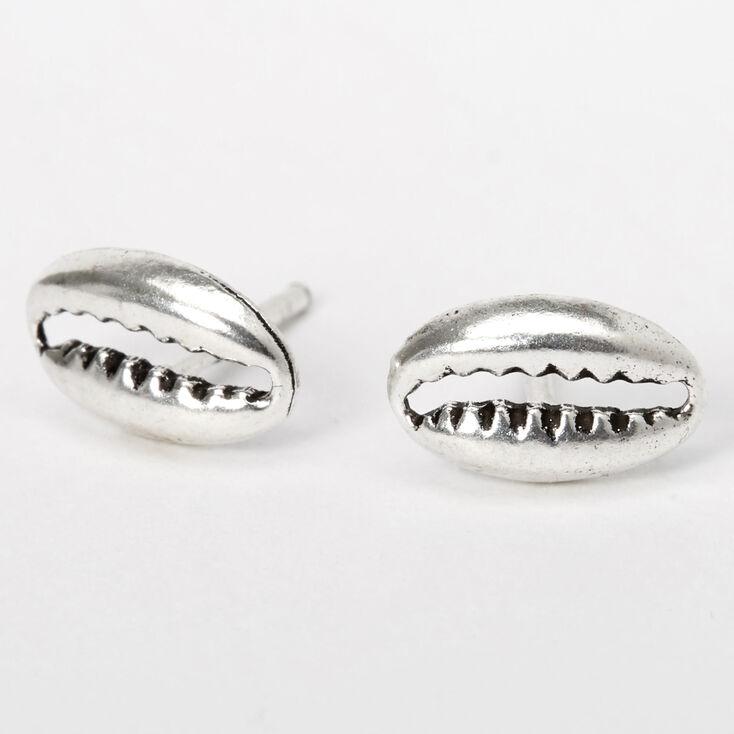 Shell Silver Earrings