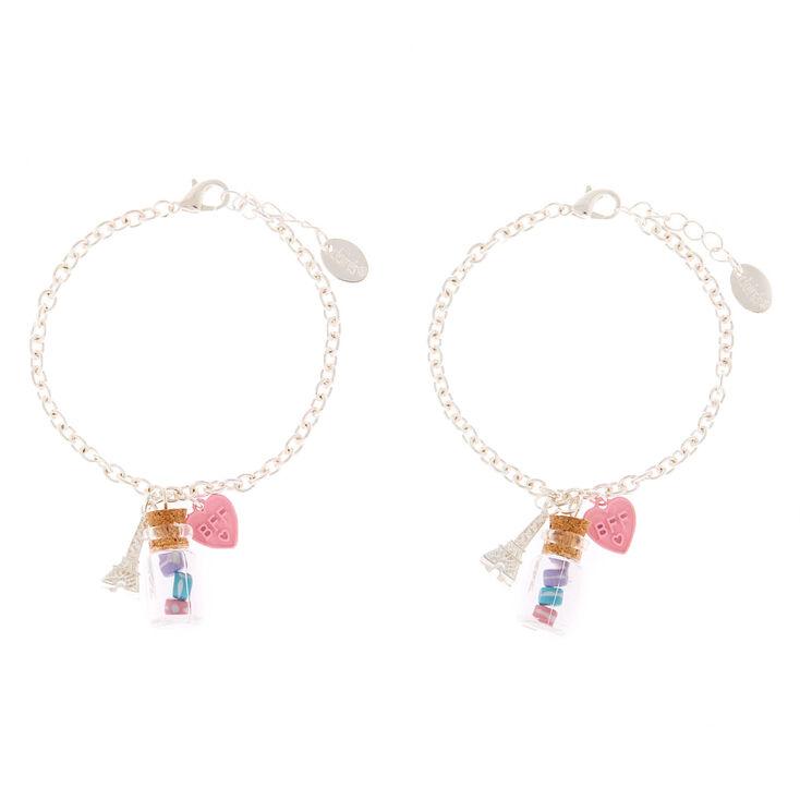 Paris Macaron Chain Friendship Bracelets - 2 Pack,