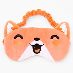 Plush Hamster Sleeping Mask - Orange,