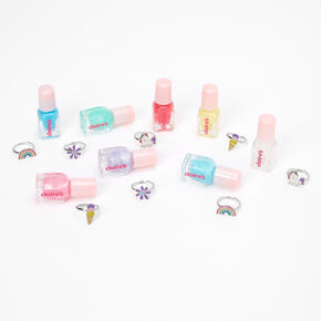 Claire's Club Unicorn Nail Polish Set - 8 Pack,