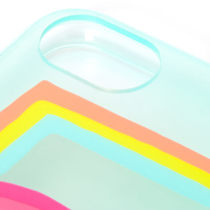 Rainbow Love Protective Phone Case - Fits iPhone 6/7/8/SE,