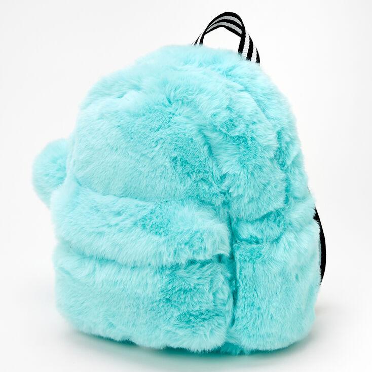 Furry Mini Backpack - Mint,