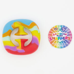 Rainbow Push Snappers Fidget Toy,