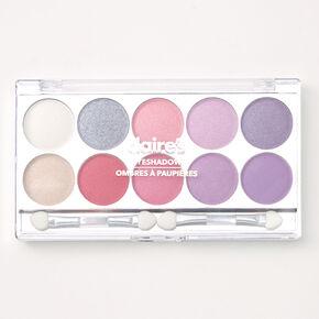 Lilac Glitz Glitter & Shimmer Eyeshadow Palette,