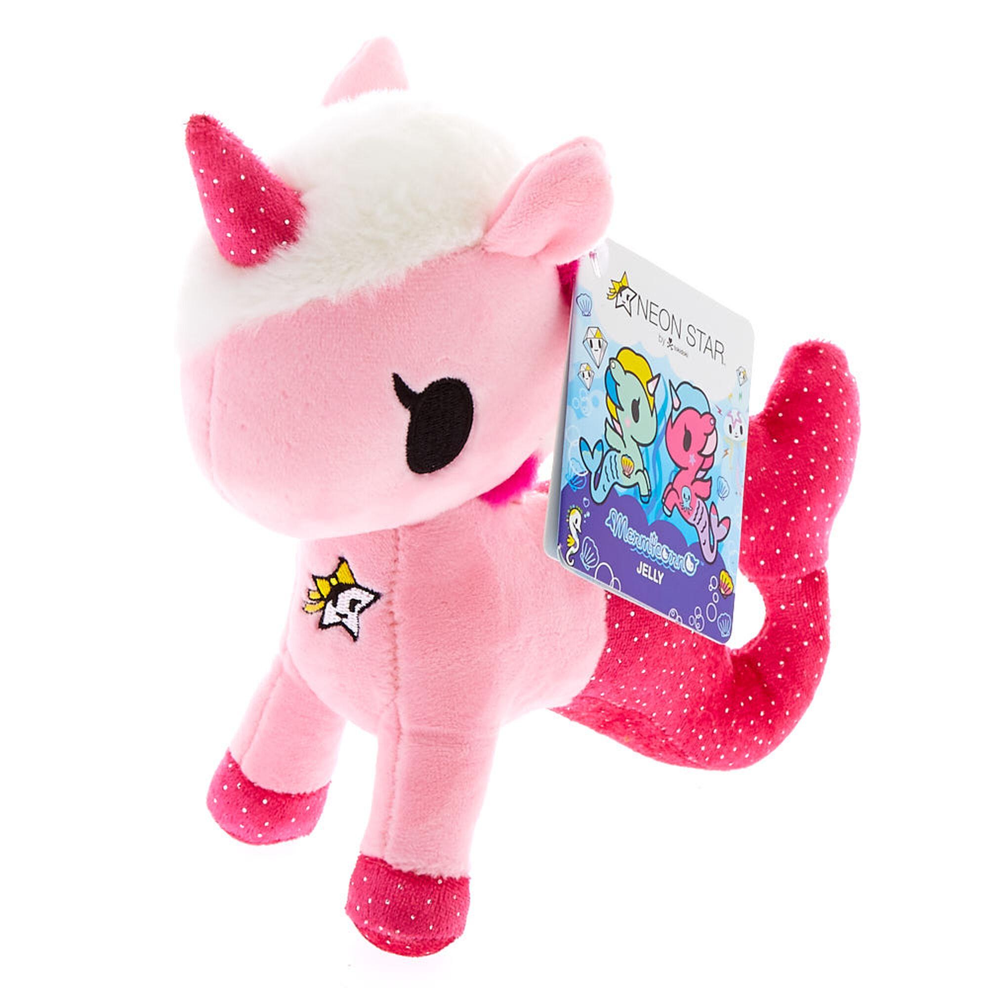 Neon Star By Tokidoki Pink Mermicorno Jelly Plush Toy