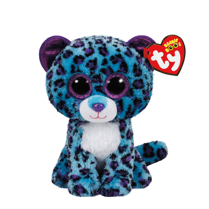 8734afce210 Ty Beanie Boo Small Lizzie the Leopard Soft Toy