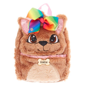 cdc07a9810a8 JoJo Siwa™ BowBow Plush Backpack - Brown