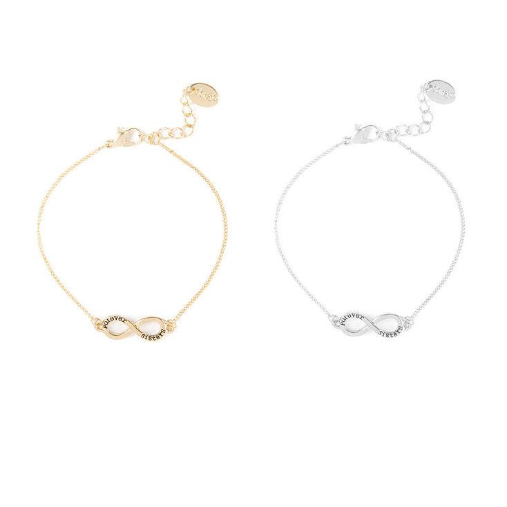 Forever Sisters Infinity Bracelets