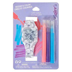 Design & Colour Unicorn LED Watch,