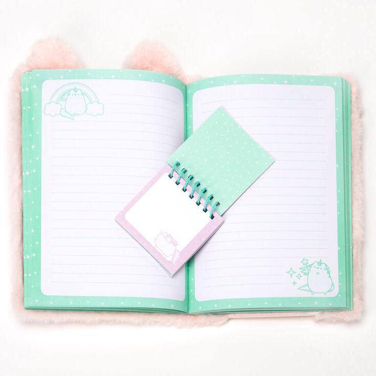 Pusheen® Plush Pocket Notebook – Pink,