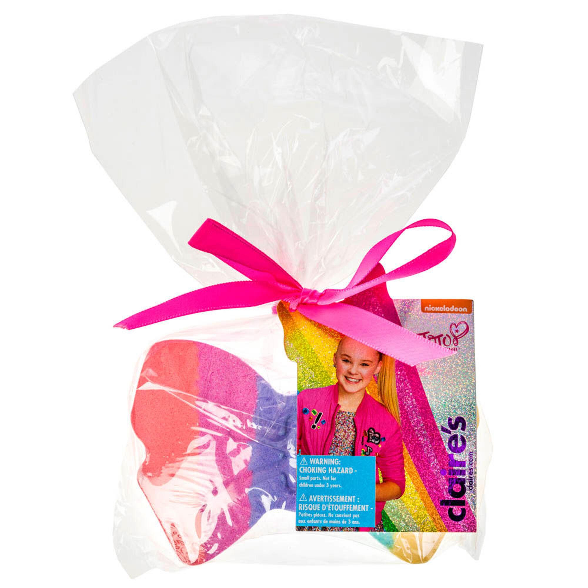 JoJo Siwa™ Rainbow Bow Bath Bomb   Claire\'s US