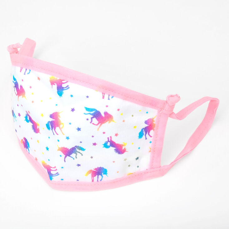 JoJo Siwa™ Unicorn Print Cloth Face Mask – Adjustable,