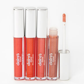 Nudes Lip Gloss Set - 4 Pack,