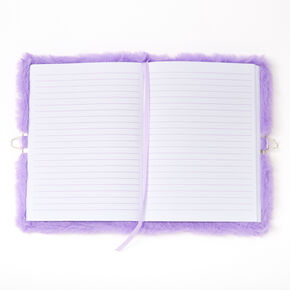 Miss Glitter the Unicorn Soft Lock Diary - Purple,